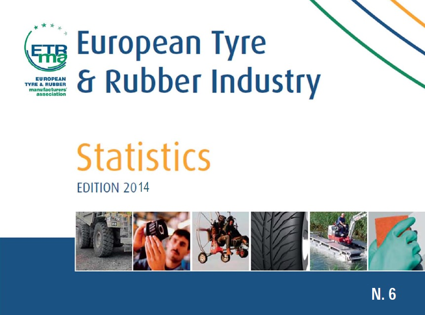 European Tyre and Rubber Manufacturers' Association has recently published a new statistics report regarding tyre and general rubber goods industry in Europe. Please find it below: